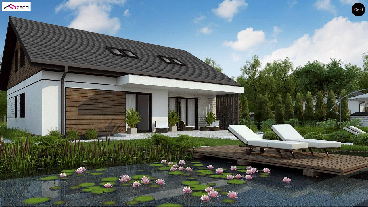 Проект дома Z462 - 1