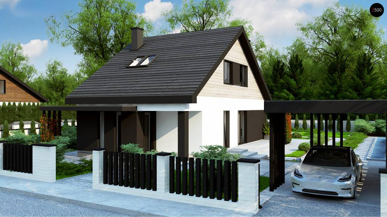 Проект дома Z468 - 1