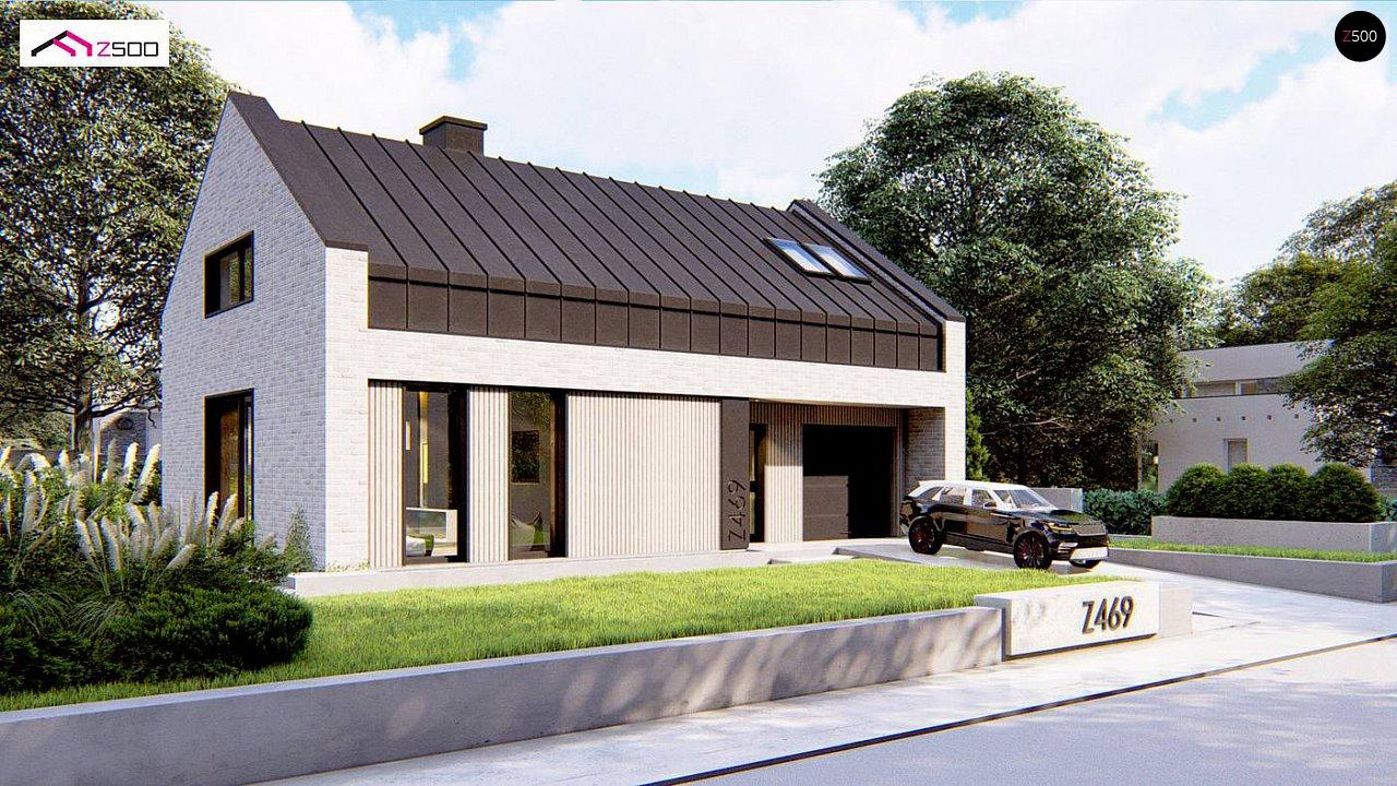 Проект дома Z469