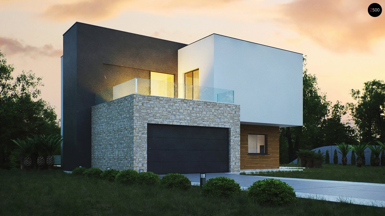 Проект дома Zr17 - 1