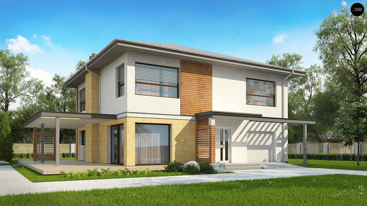 Проект дома Zx2 L v2