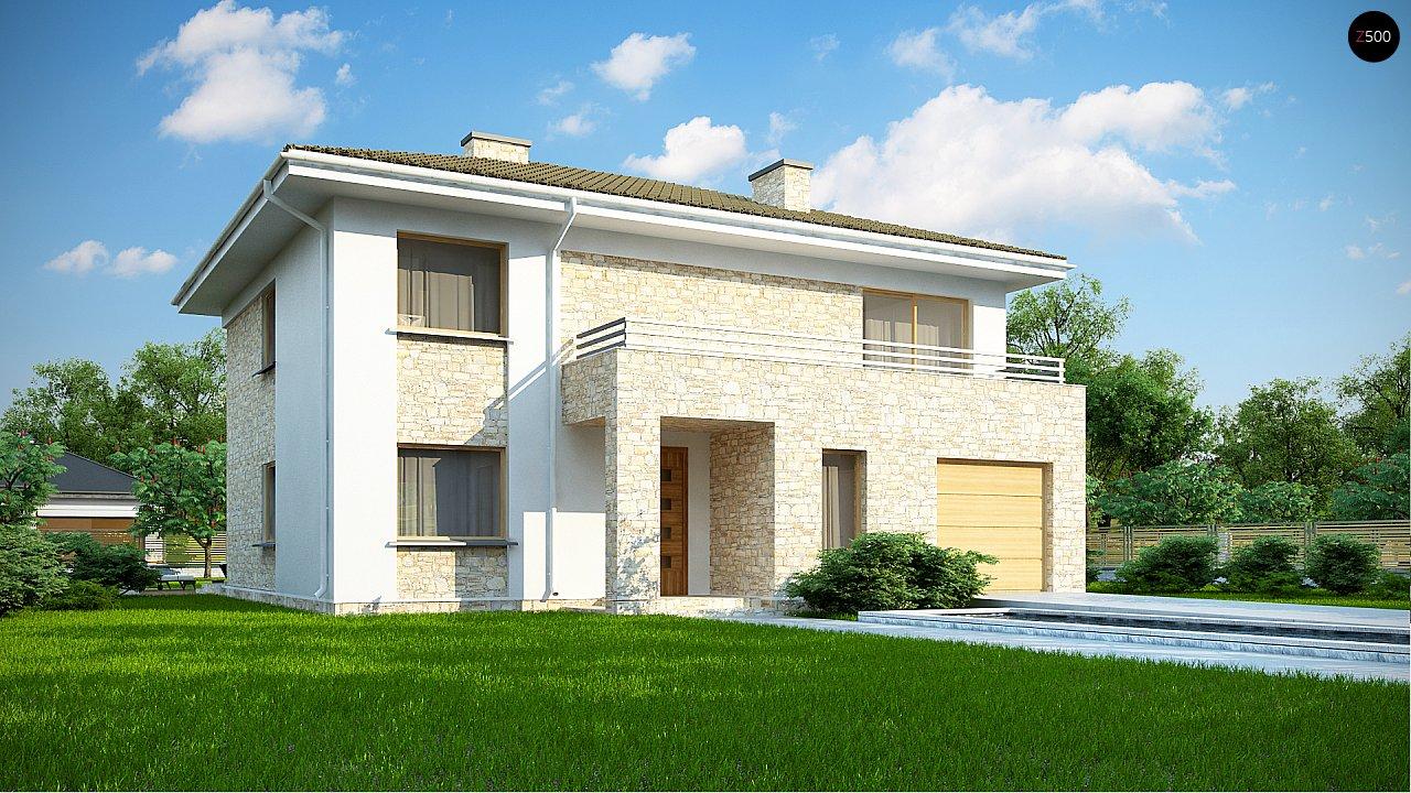 Проект дома Zx4 A - 1