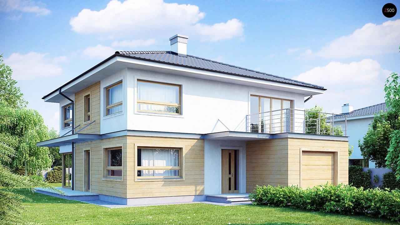Проект дома Zx7 s