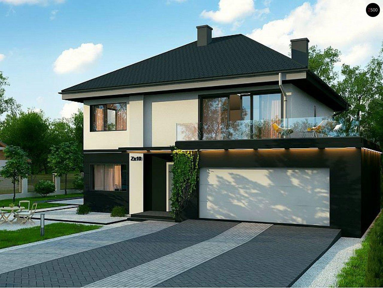 Проект дома Zx10 F - 1