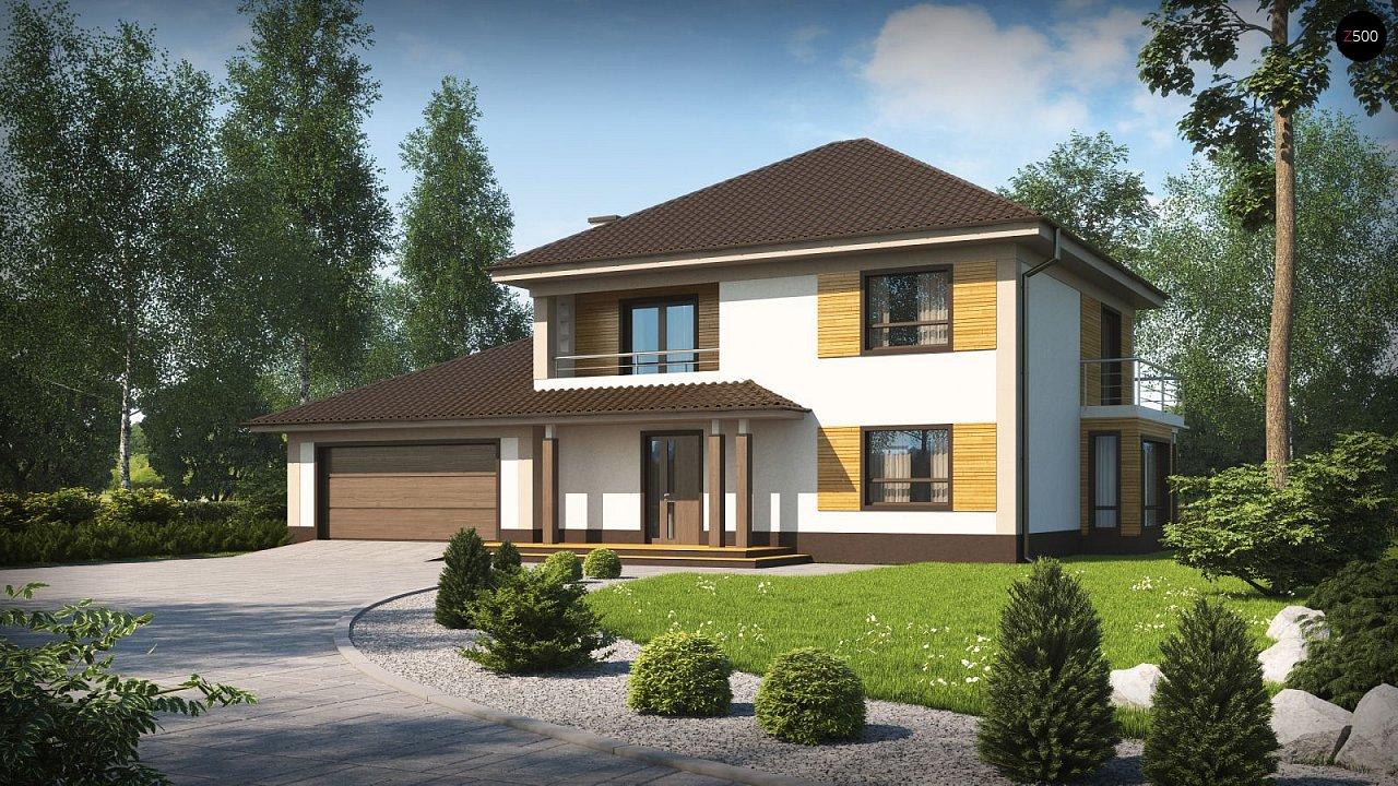 Проект дома Zx12 GL2 F - 1