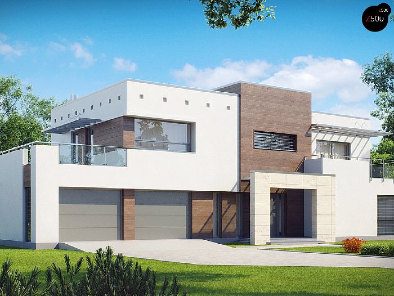 Проект дома Zx15 GL2 P - 1