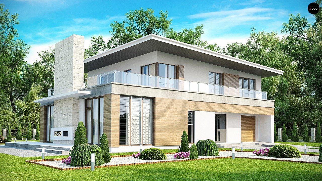 Проект дома Zx21
