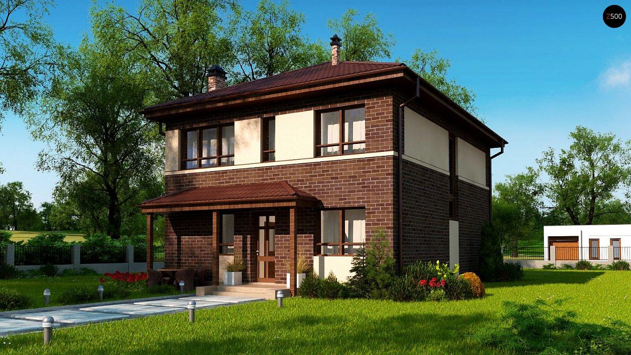Проект дома Zx24 a