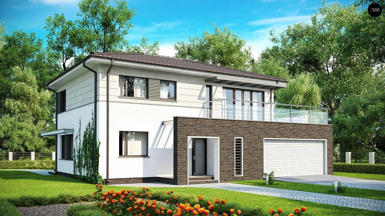 Проект дома Zx26 F