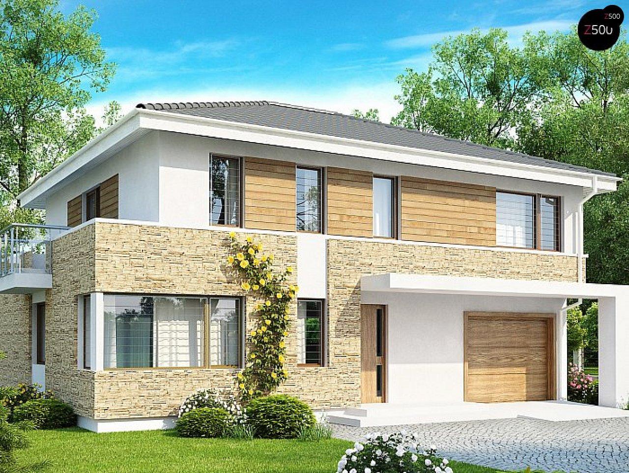 Проект дома Zx29 S - 1
