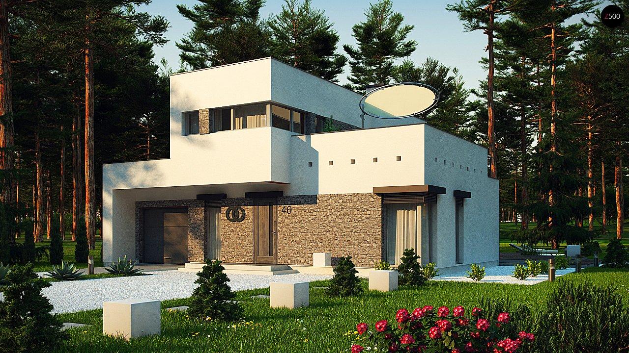 Проект дома Zx46 minus - 1