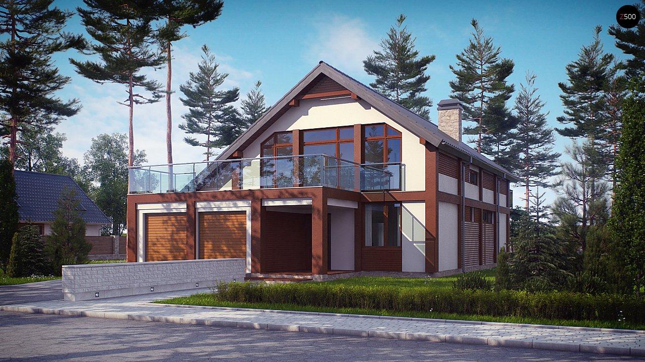 Проект дома Zx50 - 1