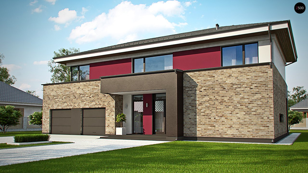 Проект дома Zx61 - 1