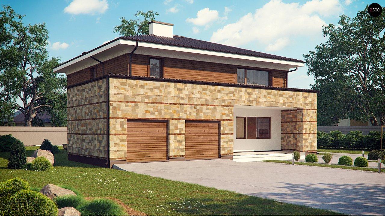 Проект дома Zx62