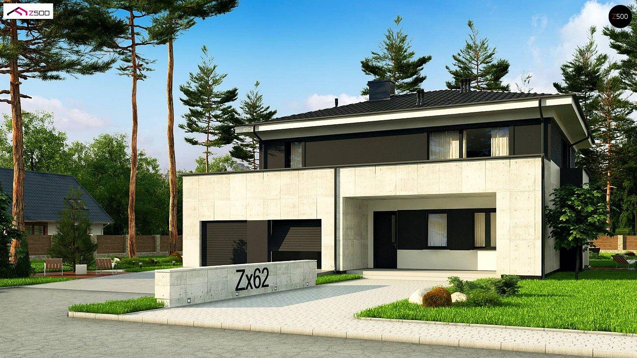 Проект дома Zx62 A - 1