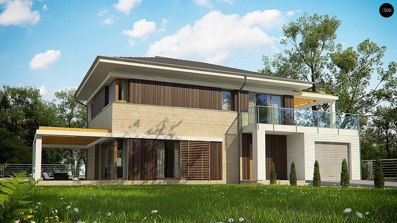 Проект дома Zx63 B + - 1