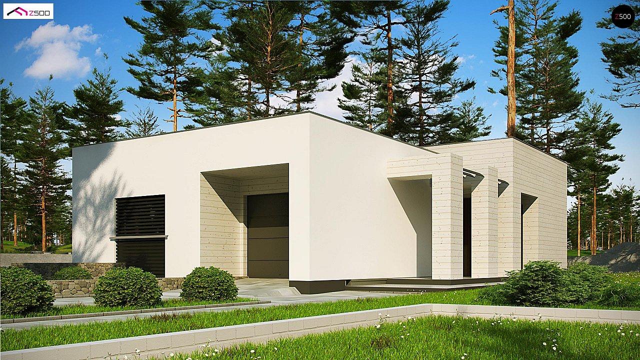 Проект дома Zx68 A minus