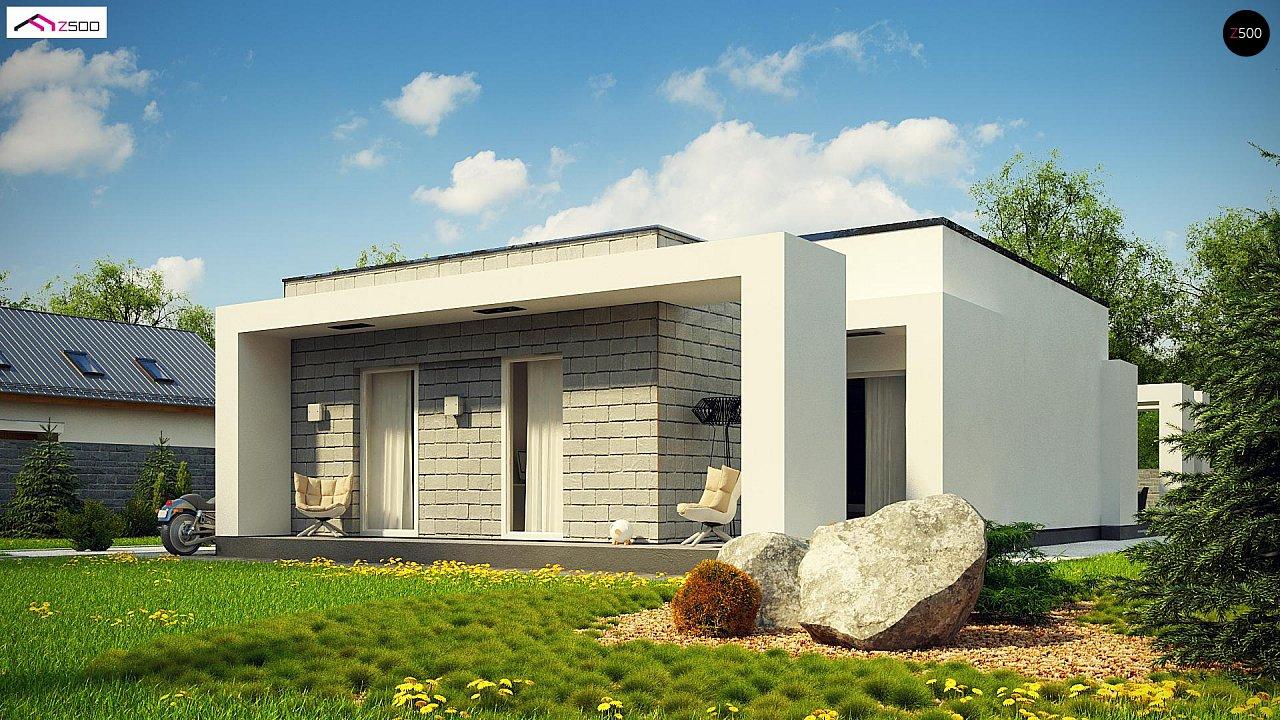 Проект дома Zx69