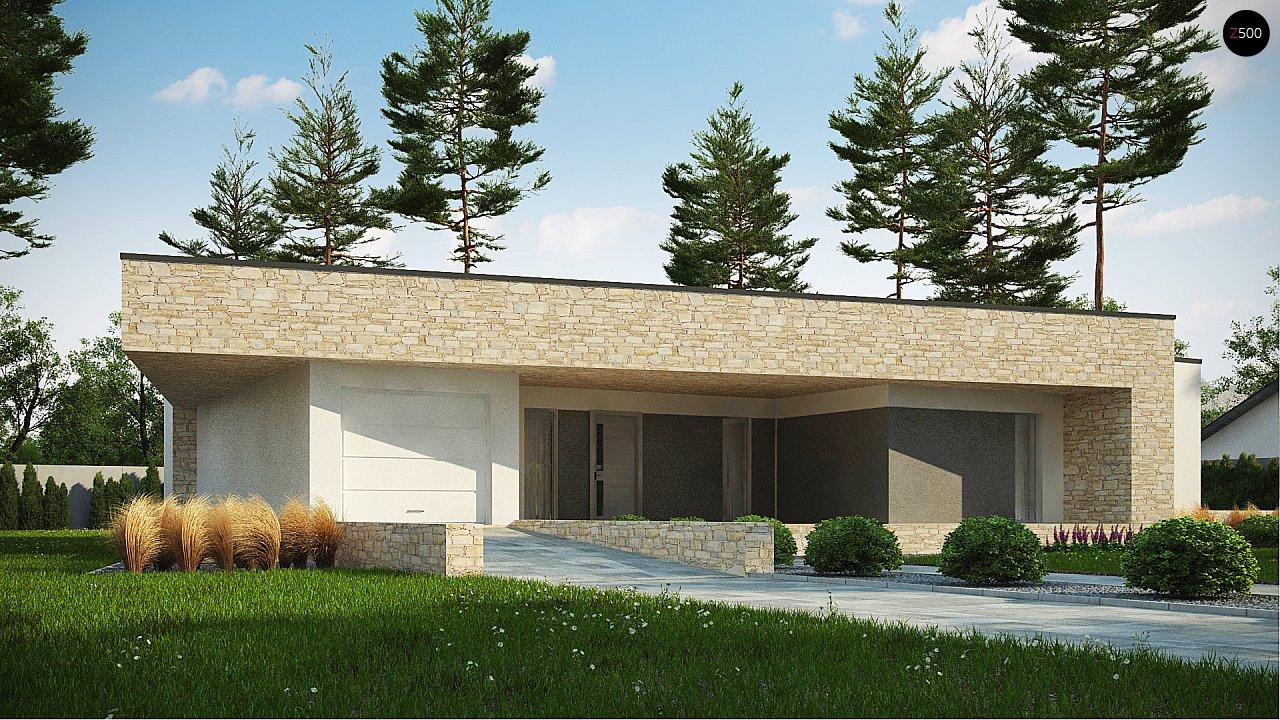 Проект дома Zx71 - 1