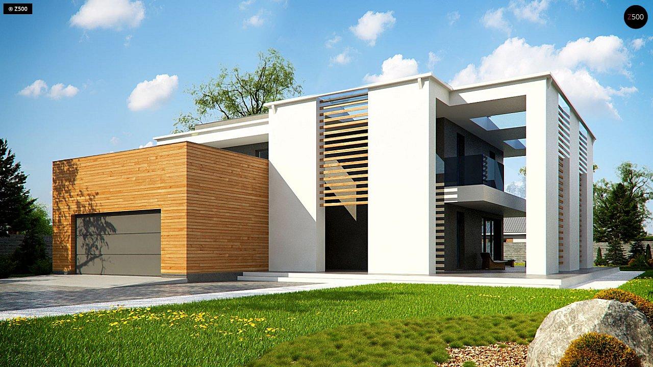 Проект дома Zx75 - 1