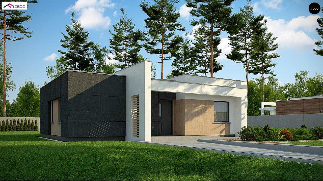 Проект дома Zx77 D