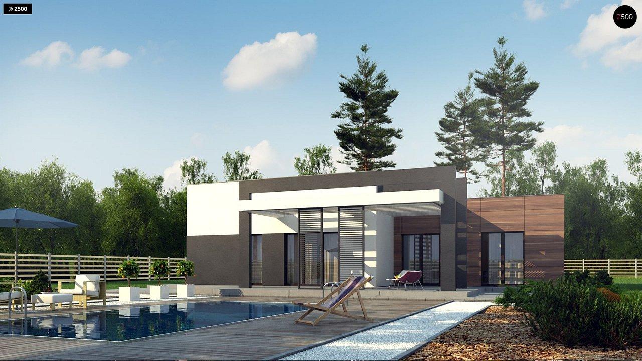 Проект дома Zx78 - 1
