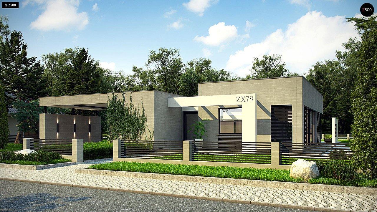 Проект дома Zx79