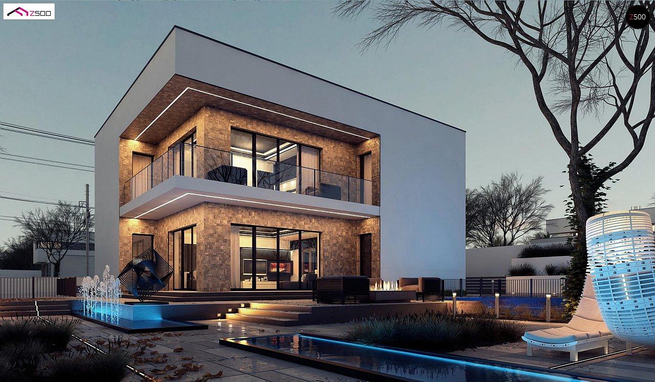 Проект дома Zx82 - 1