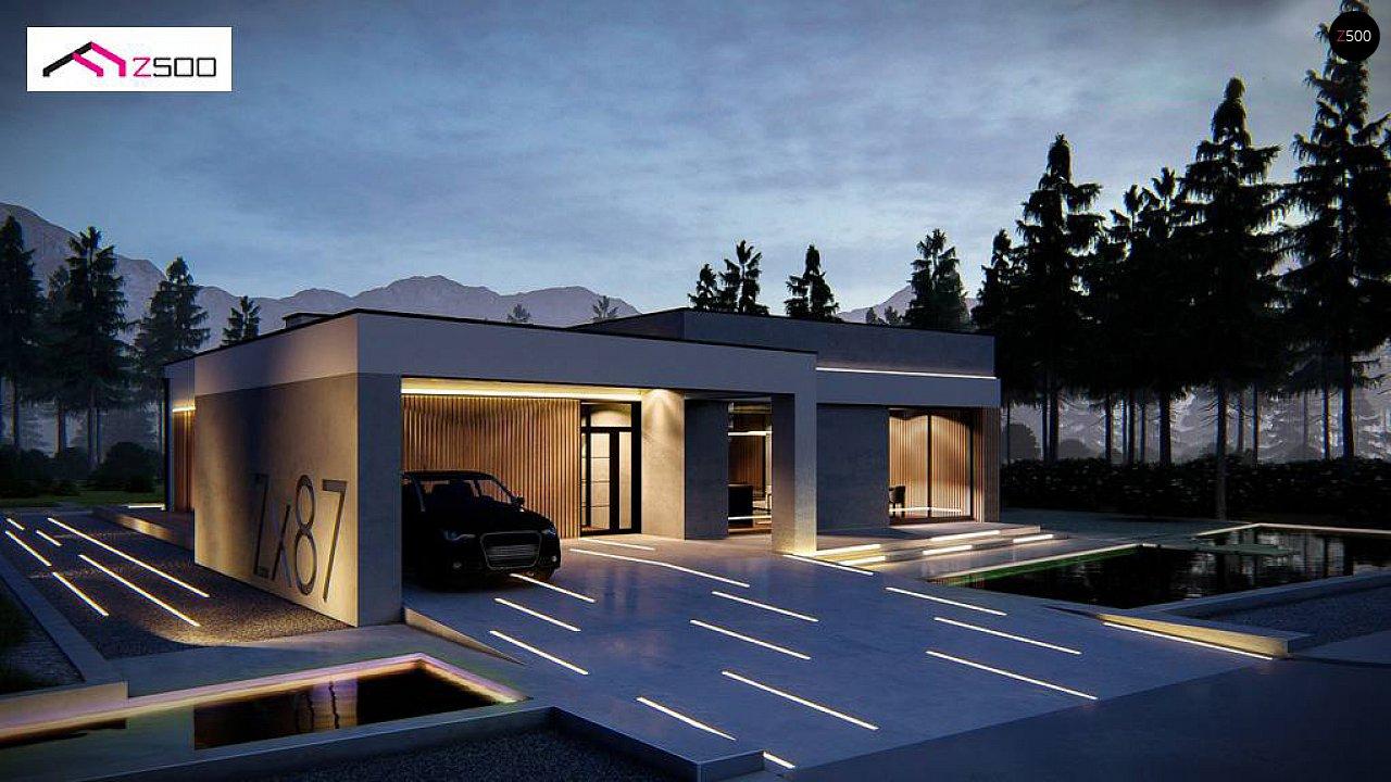 Проект дома Zx87