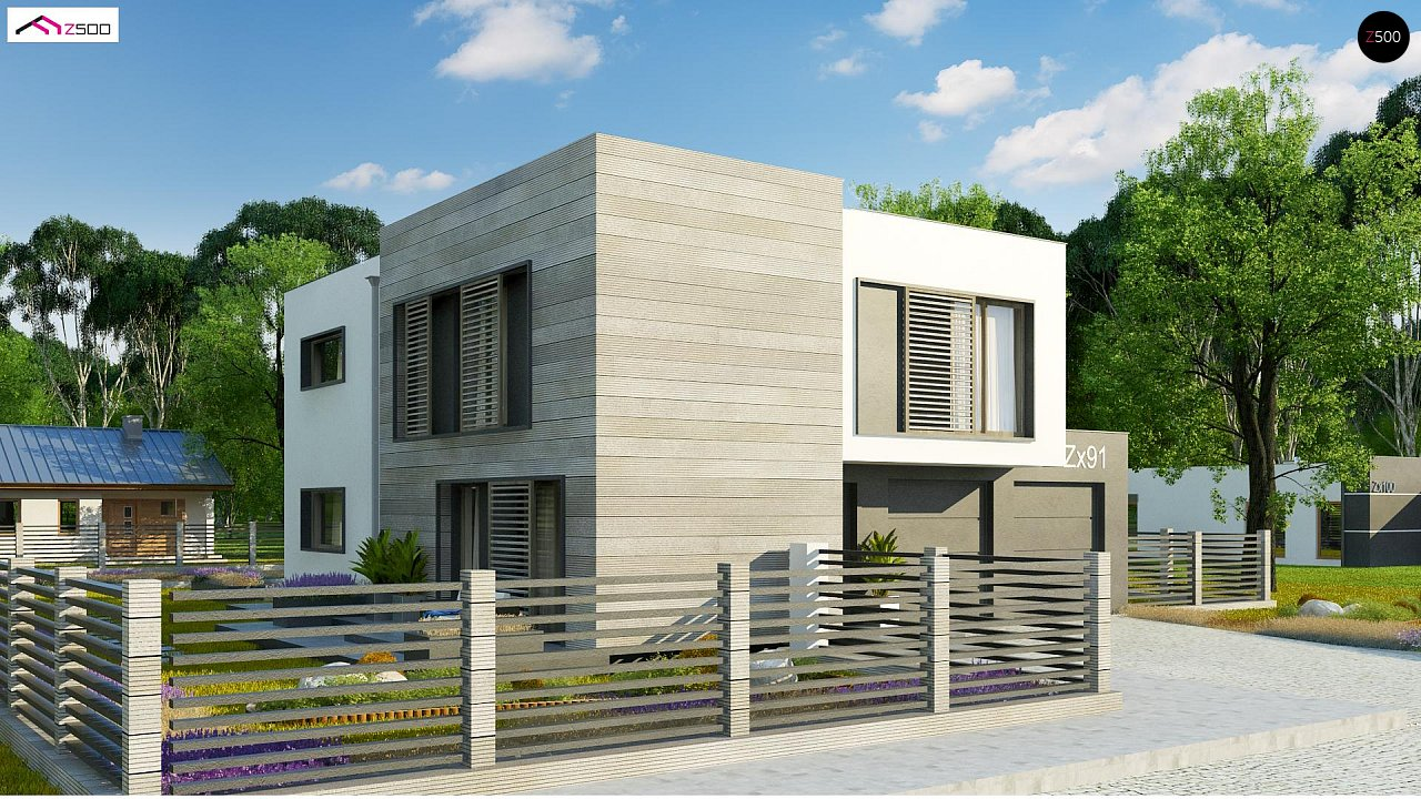 Проект дома Zx91 - 1