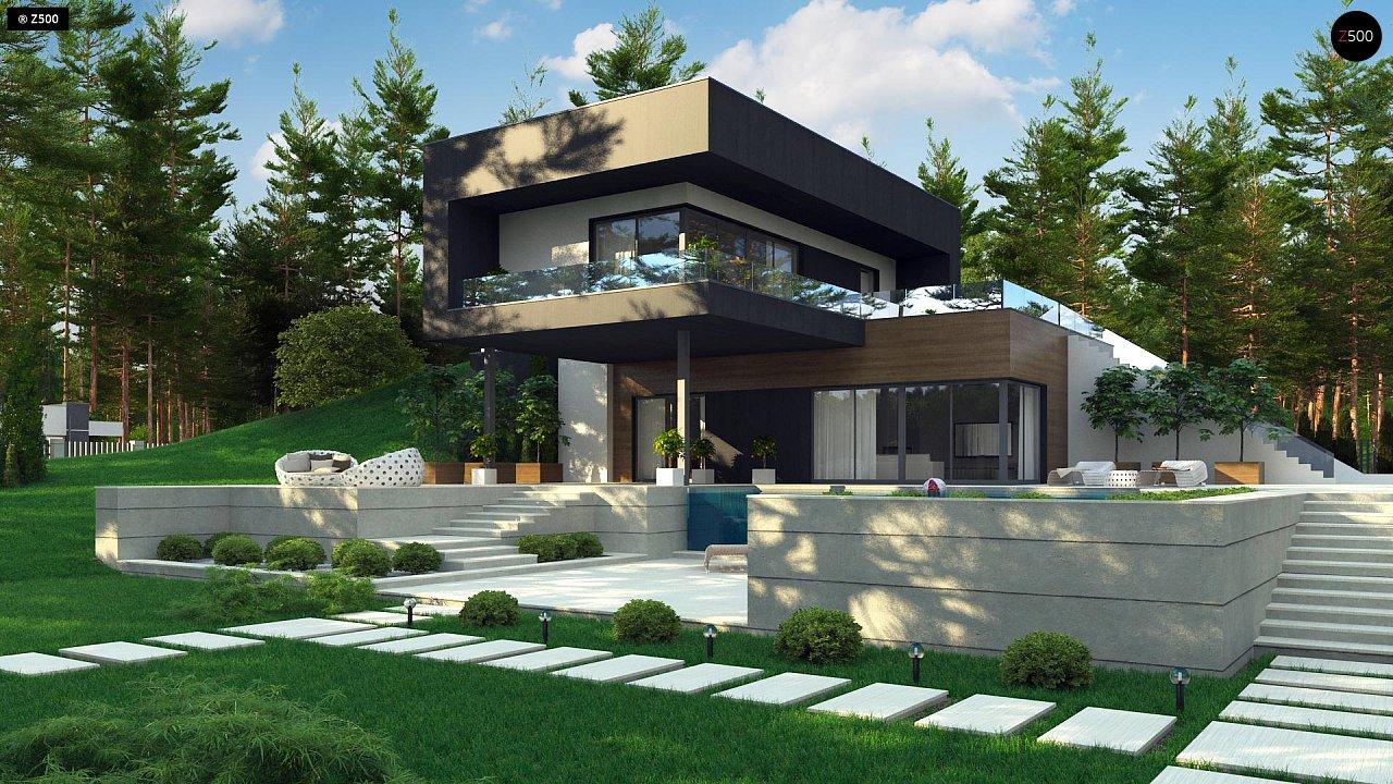 Проект дома Zx97 - 1