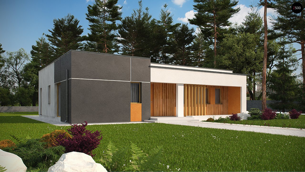 Проект дома Zx102 bG