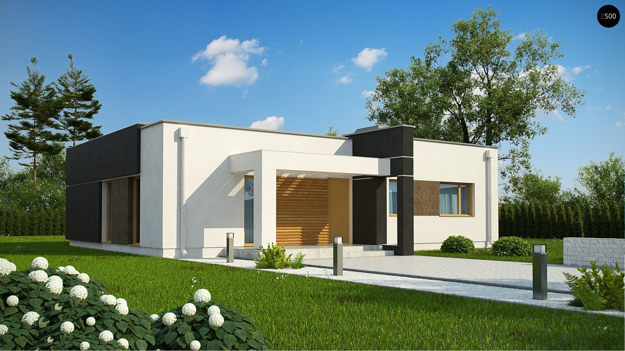 Проект дома Zx105 B - 1