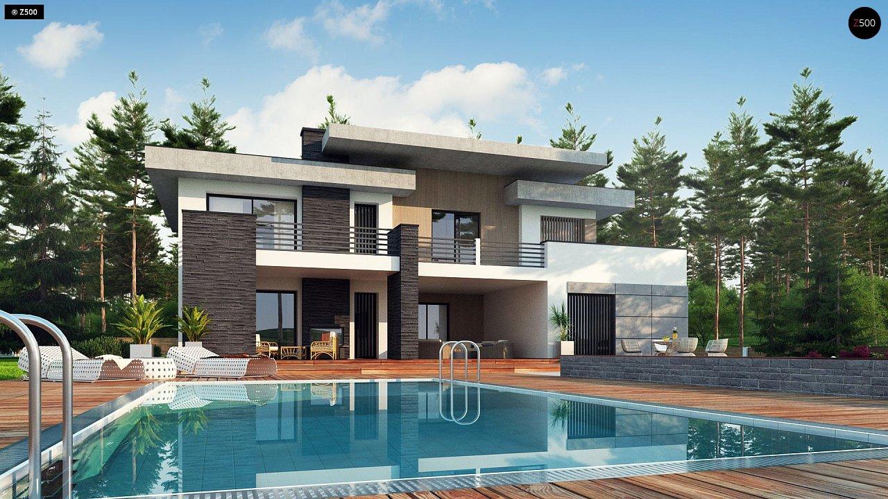 Проект дома Zx107 - 1