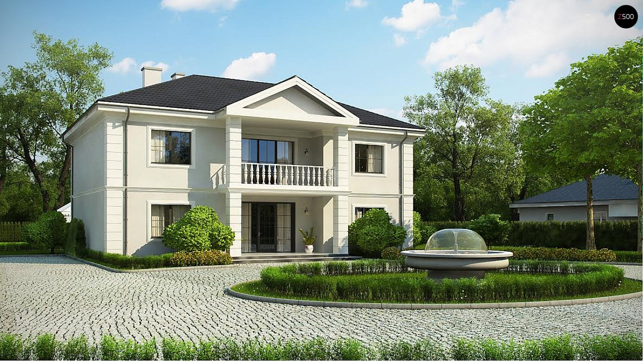 Проект дома Zx113 bg - 1