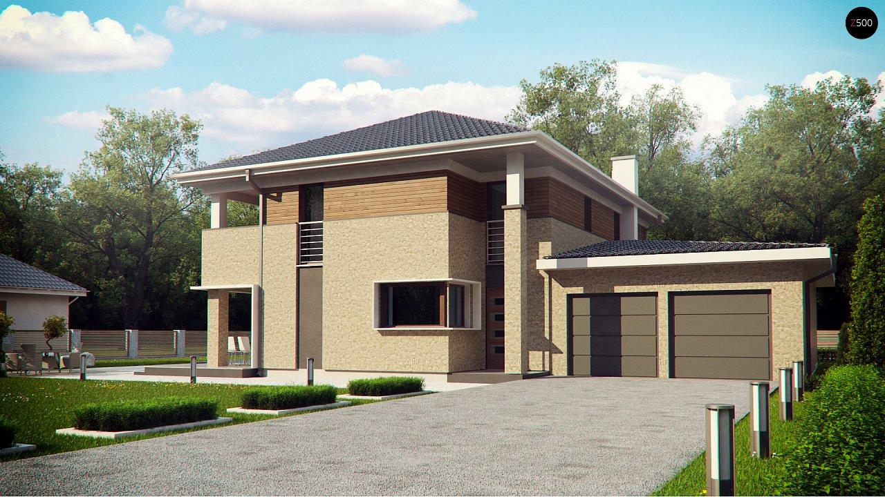 Проект дома Zx122 - 1