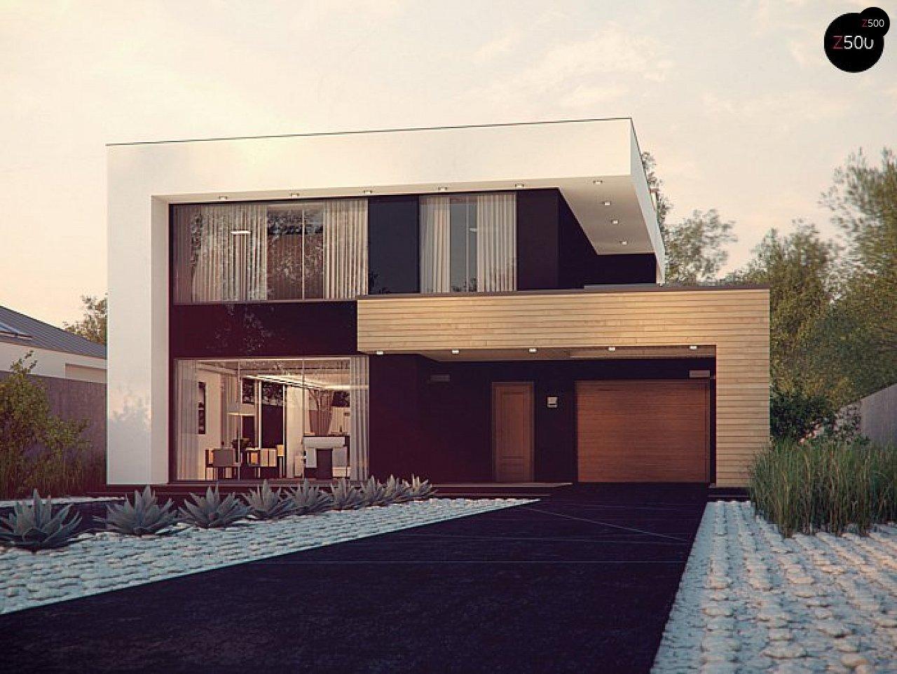 Проект дома Zx123 P - 1