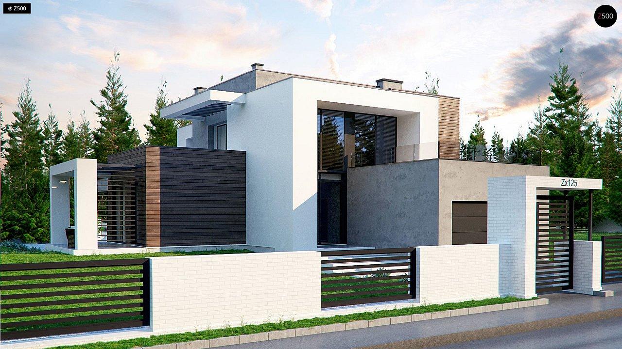 Проект дома Zx125 - 1