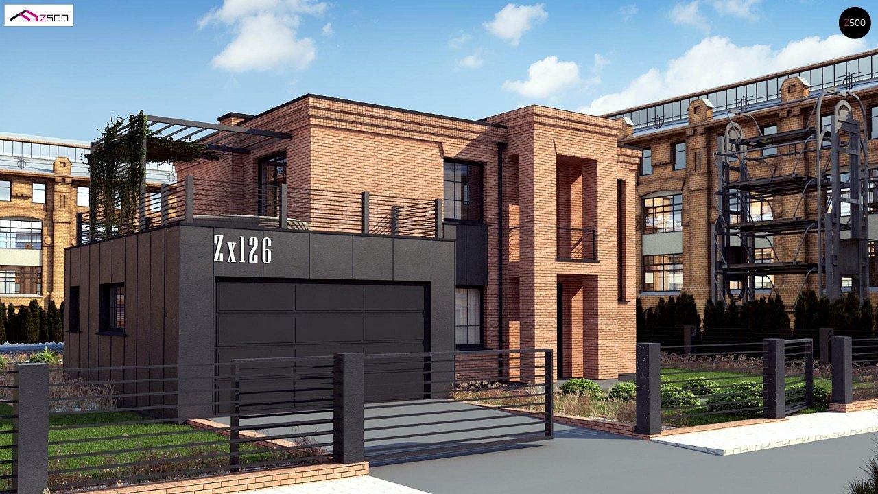 Проект дома Zx126