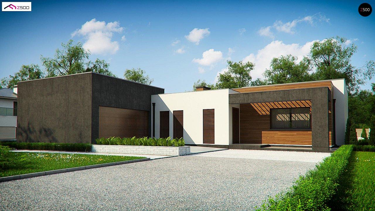 Проект дома Zx128