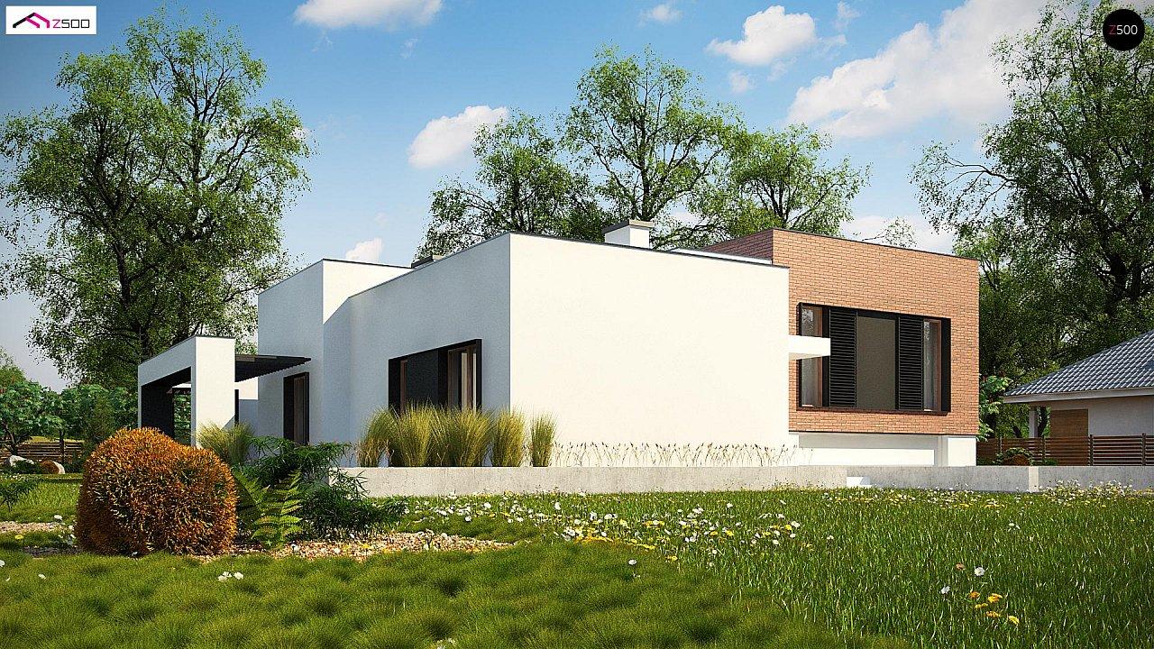 Проект дома Zx132