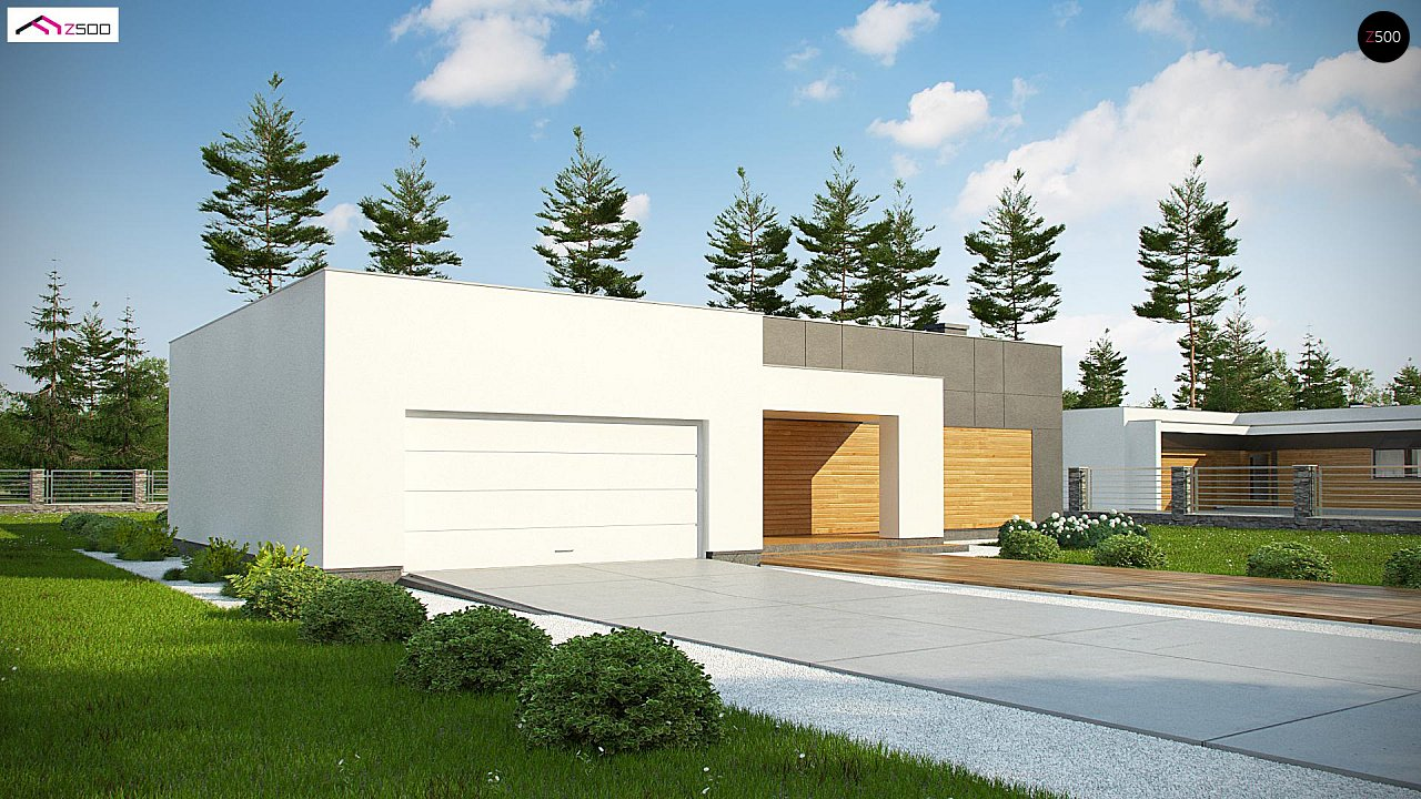 Проект дома Zx133 - 1