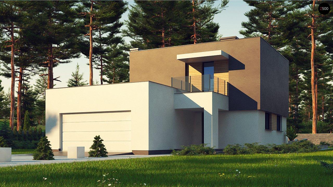 Проект дома Zx134 - 1