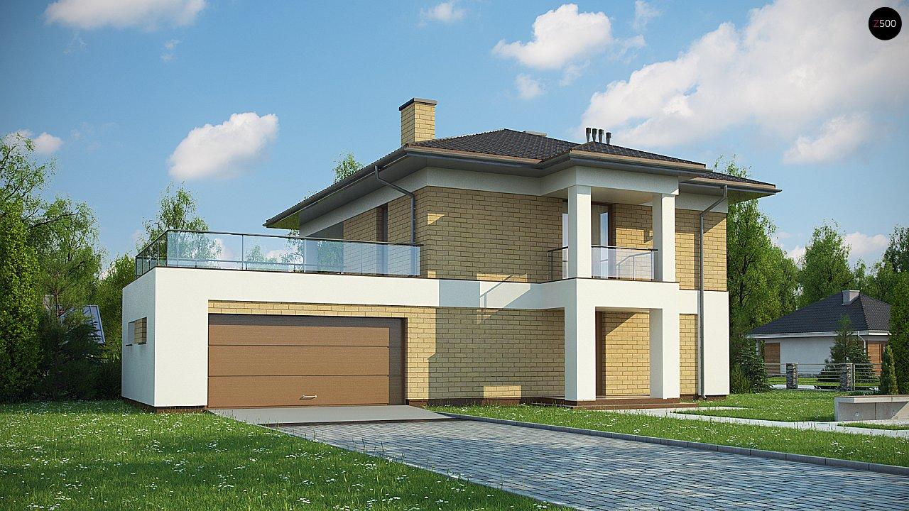 Проект дома Zx136 - 1