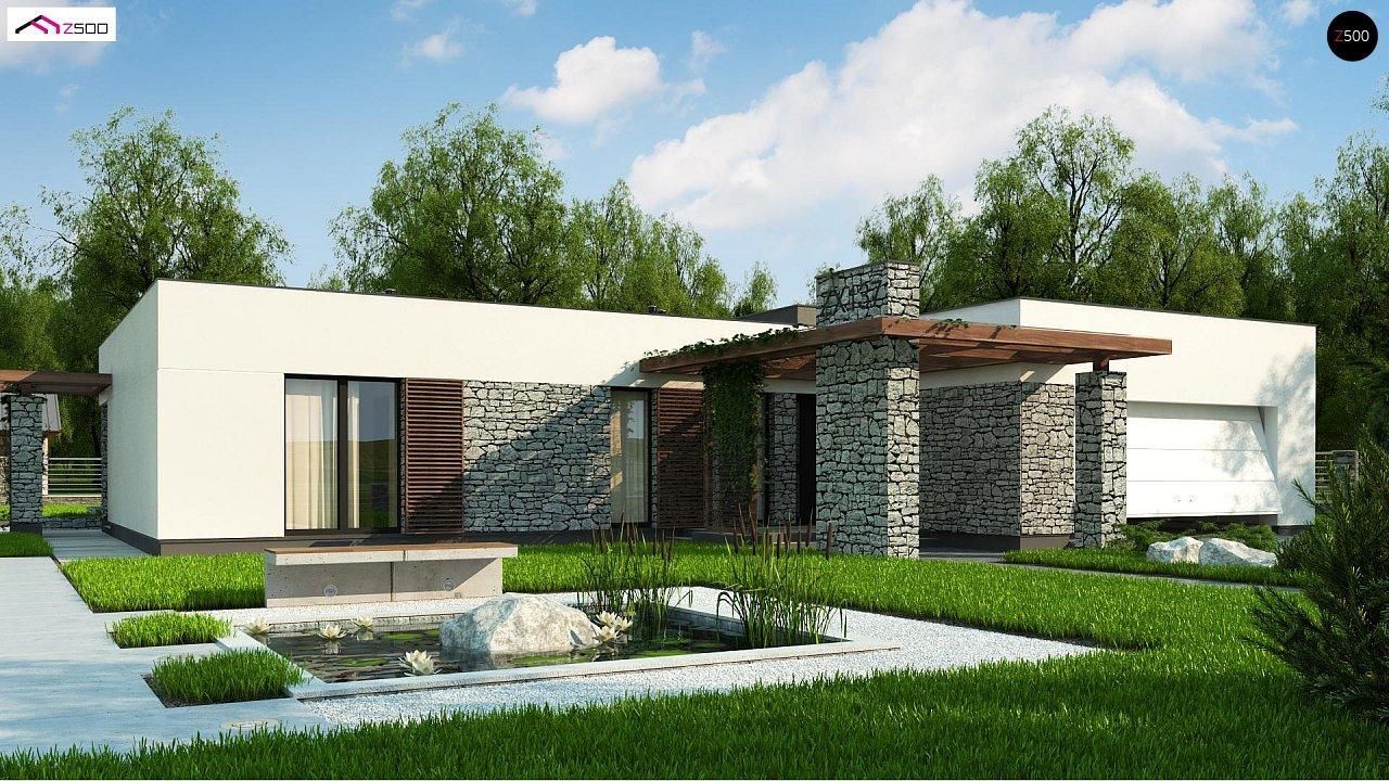 Проект дома Zx137 - 1