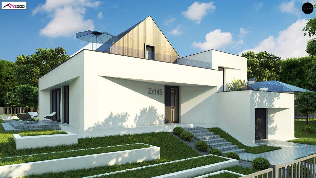 Проект дома Zx145 - 1