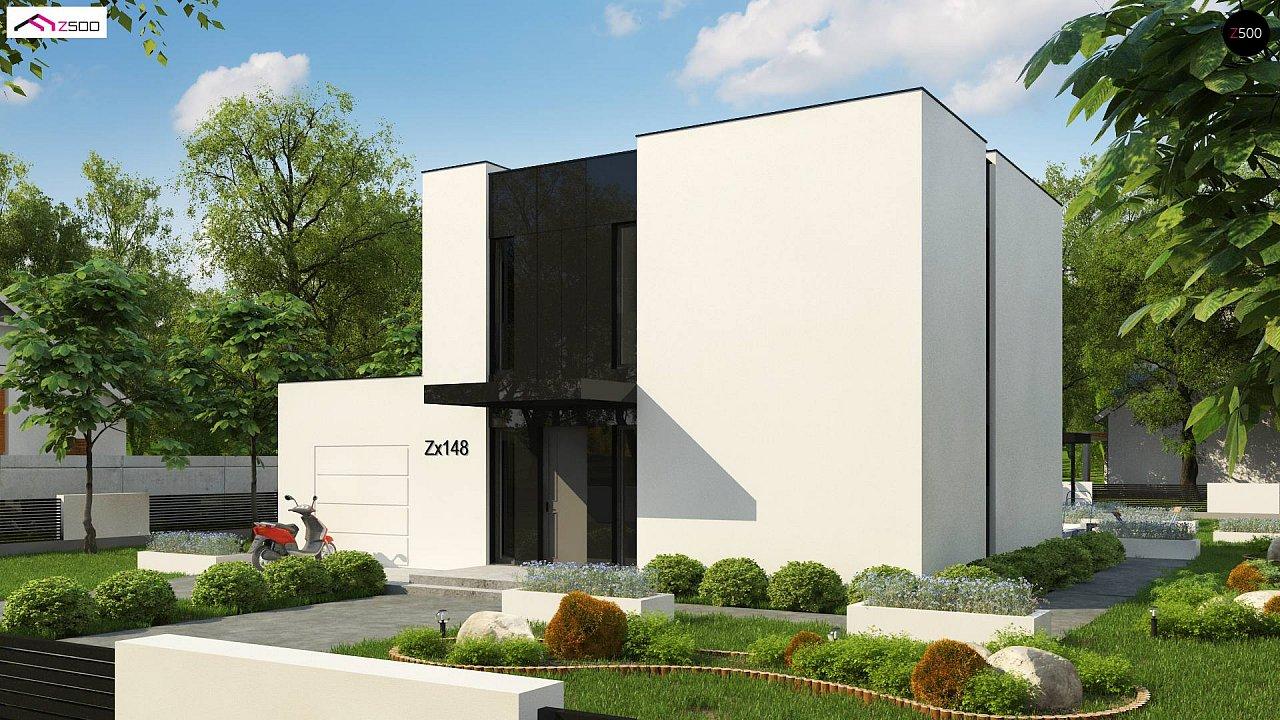 Проект дома Zx148