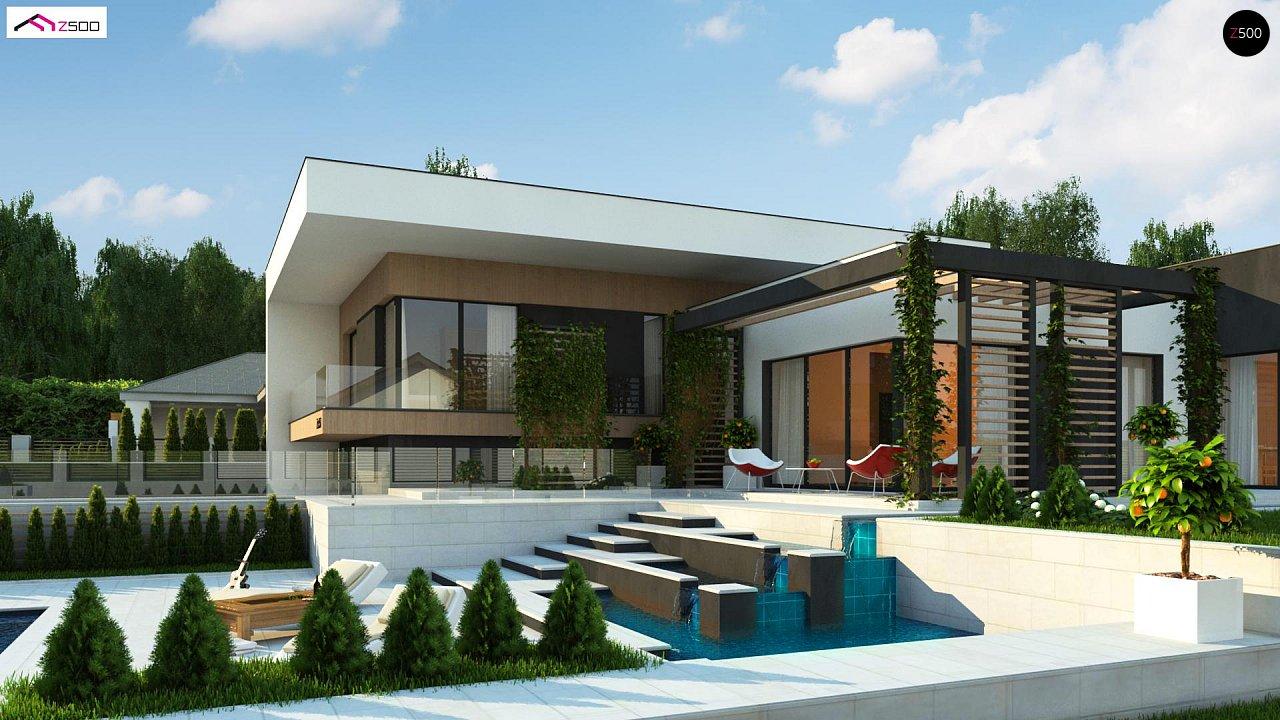 Проект дома Zx151 - 1