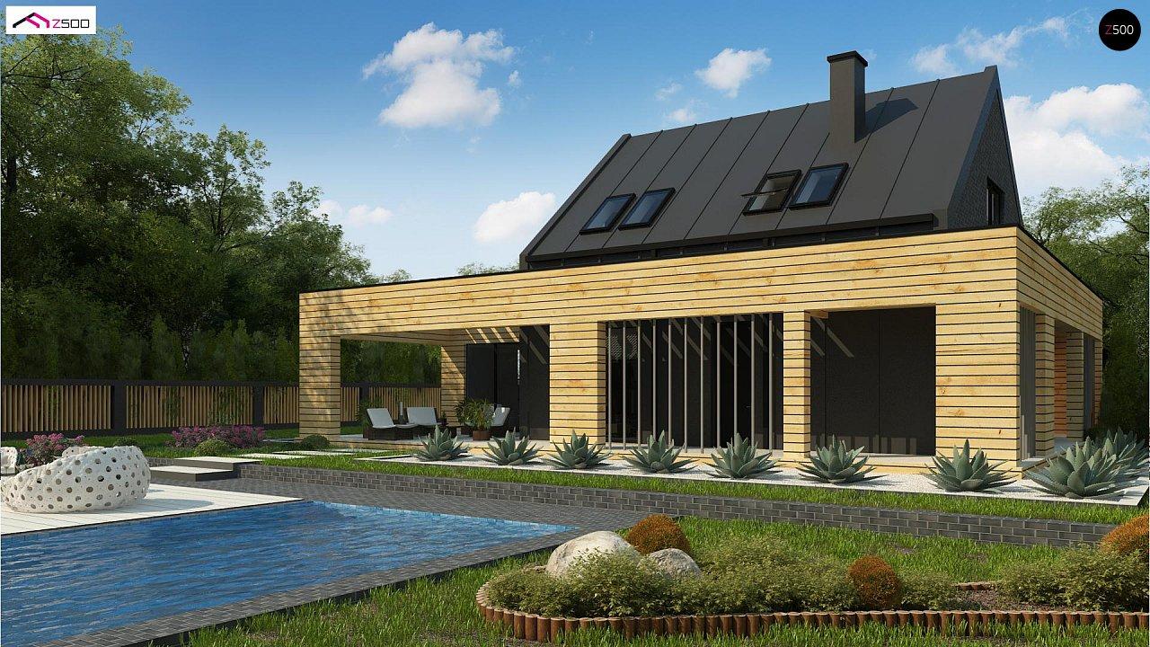 Проект дома Zx156