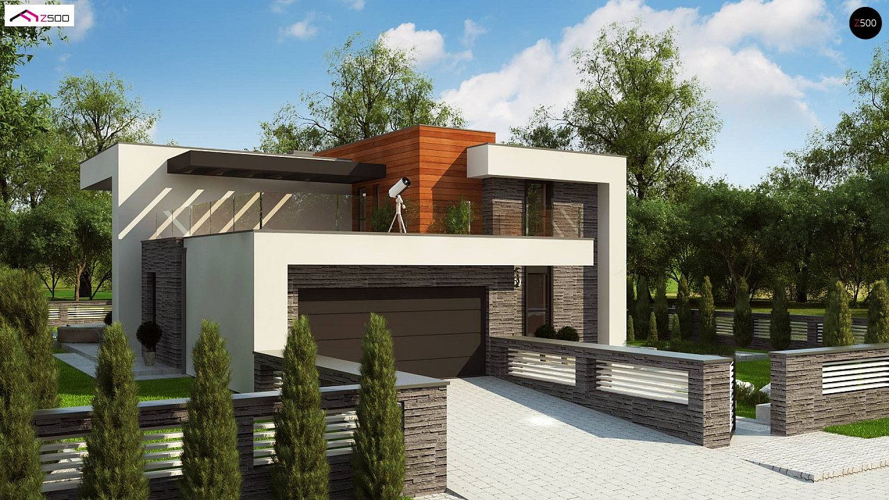 Проект дома Zx159